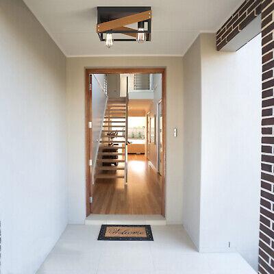 Adjustable Ceiling Geometric Lights Rustic Flush Mount