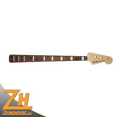 Fender '70s Jazz Bass Neck, 20 Vintage-Style Frets, Rosewood FB, Block Inlays