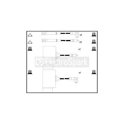Genuine ElectroSpark Ignition Cable Kit - OEK480