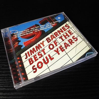 Jimmy Barnes: Best Of The Soul Years AUSTRALIA CD Sealed [CD Case cracked] (Jimmy Barnes Best Of The Soul Years)