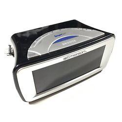 Emerson SmartSet CKS9031 digital dual alarm clock AM/FM RADIO, blue LED display