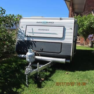 "Millard Mirage 16'8"" pop top tourer CARAVAN Morisset Park Lake Macquarie Area Preview"