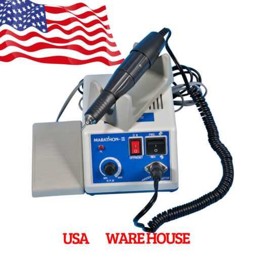 Dental Marathon Machine Micromotor Drill& 35k rpm Motor High Speed handpiece MB0