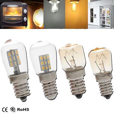 (LED Oven Light Freezer Fridge Bulb E12 E14 3W 4W 15W 25W High Temperature Lamps)