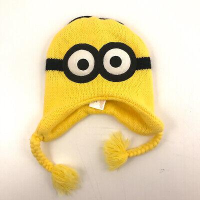 Minions Despicable Me REVERSIBLE winter hat hbx15