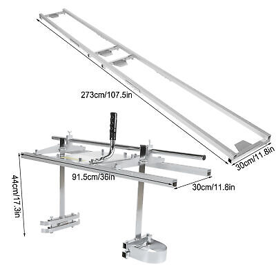 Chainsaw Mill High Quality Aluminium Alloy Planking Milling Bar Rail Mill Guide