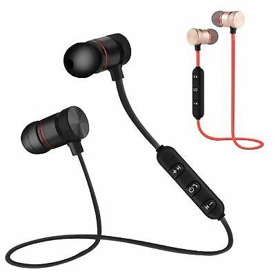 Wireless Bluetooth Stereo Headset Handsfree Headphones +Mic for Samsung Iphone