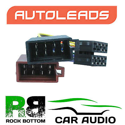 Autoleads PC2-18-4 Audi 200 Car Stereo ISO Lead Wire Loom Plug Connector Harness