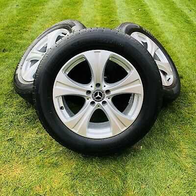 """Mercedes-Benz GLC 18"""" Alloy Wheels And Tyres - Excellent Condition"""