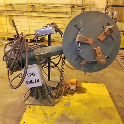 1000 Lb Pandjiris Welding Positioner W3-jaw Chuck Dresser 601 Ratio Vfd