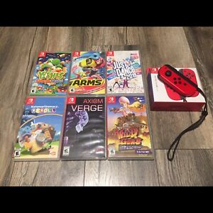 Various Nintendo Switch Games and Accessories for Sale or Trade