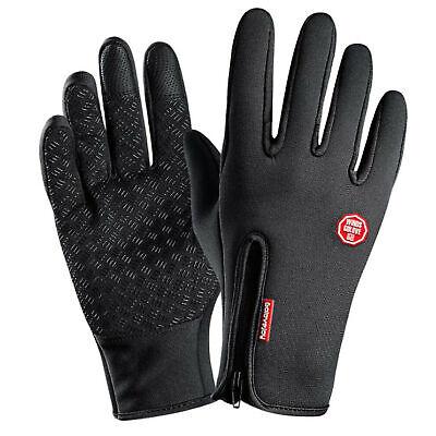 Guantes de invierno con dedos completos para practicar ciclismo en bicicleta