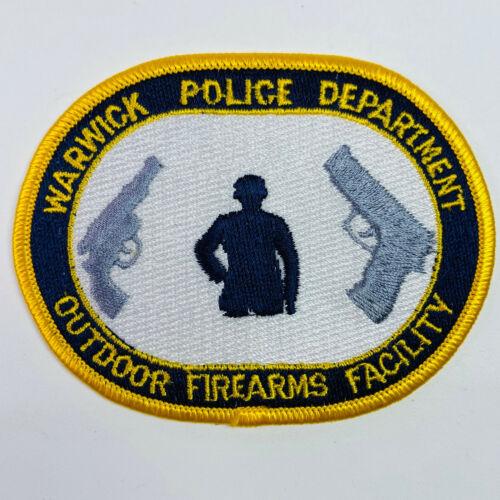 Warwick Police Outdoor Firearms Facility Rhode Island RI Patch (A2)
