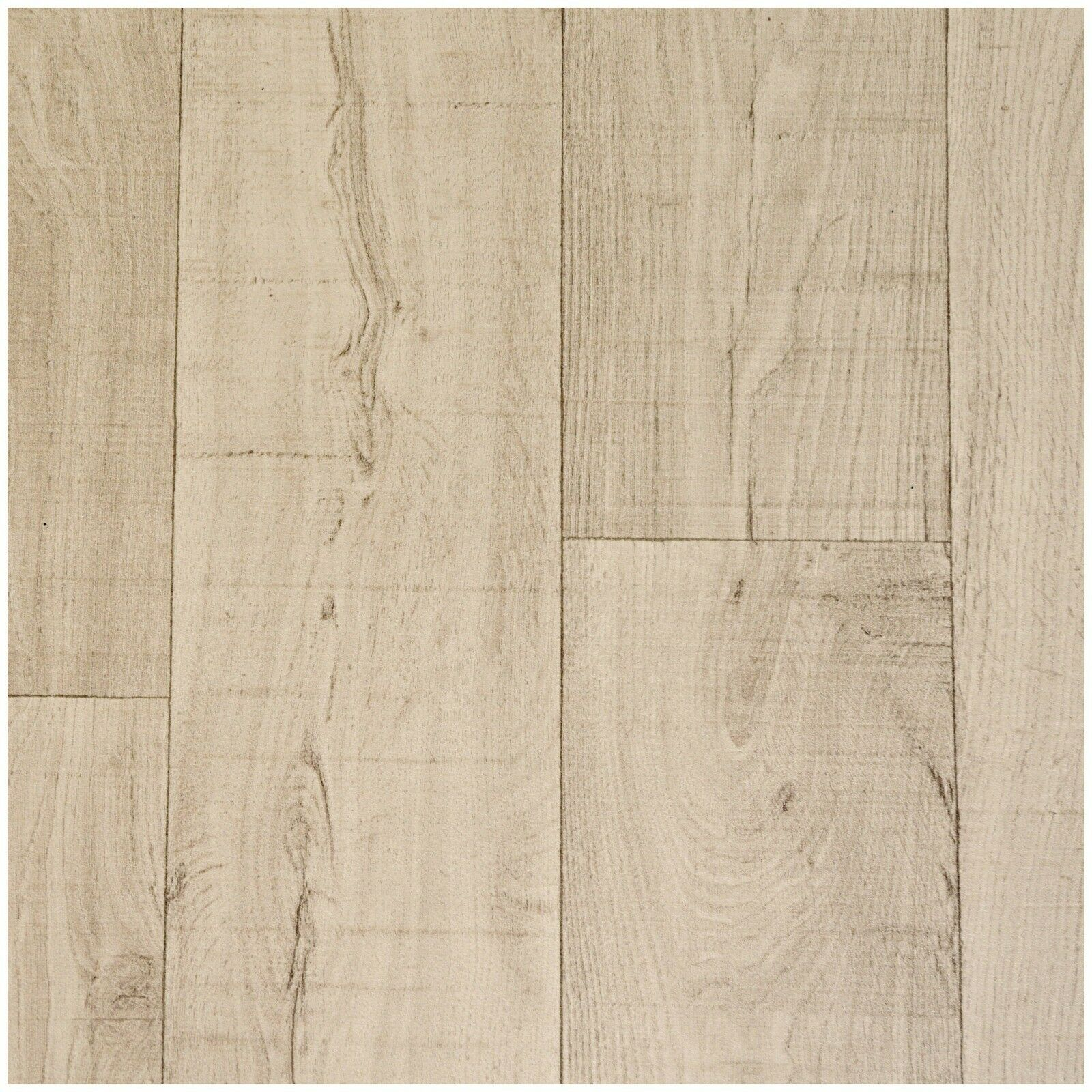 3m /& 4m Wide £11.99m² MODERN Light Grey Oak Wood Effect Vinyl Floor 2m