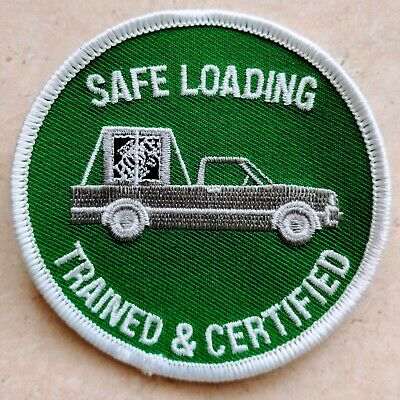 The Home Depot Apron Patch: Safe Loading Trained & Certified (pin, swag, badge)