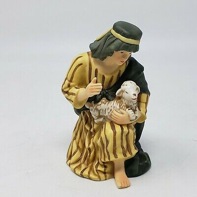 """Heritage Replacement Joseph Porcelain Nativity Set Hand Painted Collectible 5"""""""