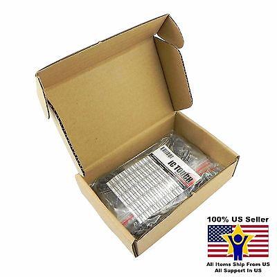 21value 200pcs Electrolytic Capacitor Assortment Box Kit Us Seller Kitb0003