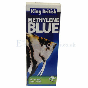 King british methylene blue aquarium antiseptic aquarium for Methylene blue for fish