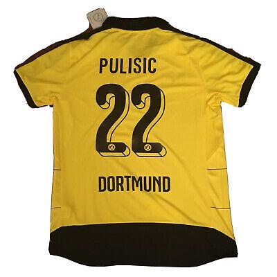 2015/16 Dortmund Home Jersey #22 Pulisic Large Puma Football Soccer USA NEW image