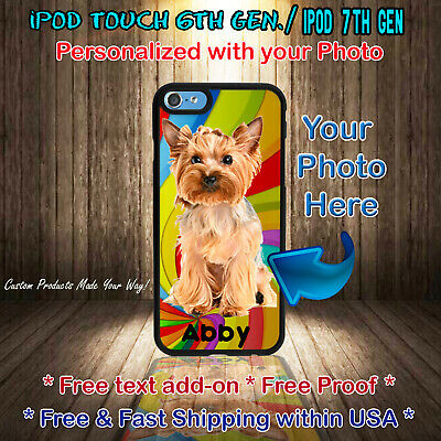 Custom Personal Photo Picture Phone Case Cover For iPod 6th or iPod 7th Gen Custom Ipod Cases