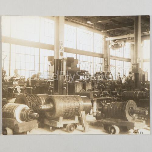 Boston Elevated Railway BRT Armature Factory Workers Vintage 8x10 Photo Original