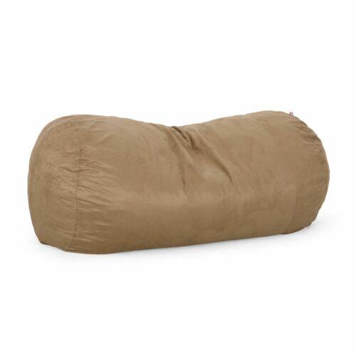 Tucker Modern 8 Foot Microfiber Pastel Bean Bag Bean Bags & Inflatables