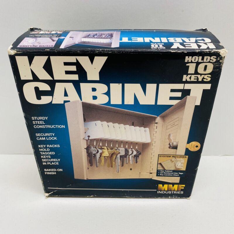 NEW OPEN BOX- SteelMaster 201901003, Unitag 10 Key Cabinet Single Key Lock.