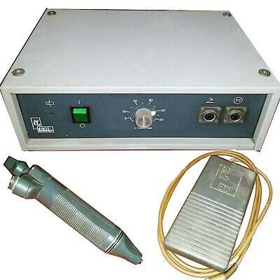 Kavo Ewl Type 4415 Dentaljewelry Controller Handpiece And Pedal 50000 Rpm