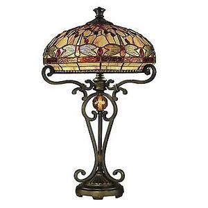 Tiffany Style Table LampTiffany Style Lamp   Lamps   eBay. Tiffany Style Lamps Qvc Uk. Home Design Ideas