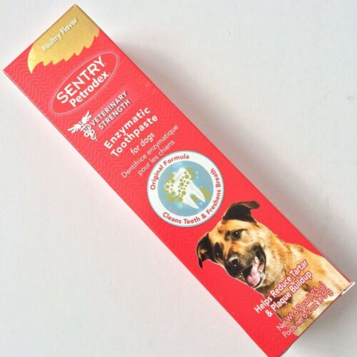 Sentry Petrodex Dental Care Enzymatic Toothpaste Dogs Poultry/Peanut Flavor