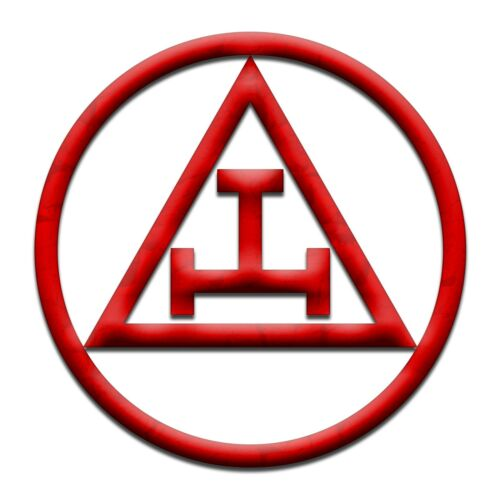 Royal Arch Masonic Bumper Sticker - [5