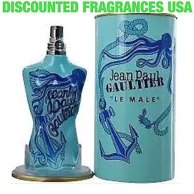 - Jean Paul  Gaultier Le Male Summer 4.2 Oz 125 Ml Cologne Tonique Spray /