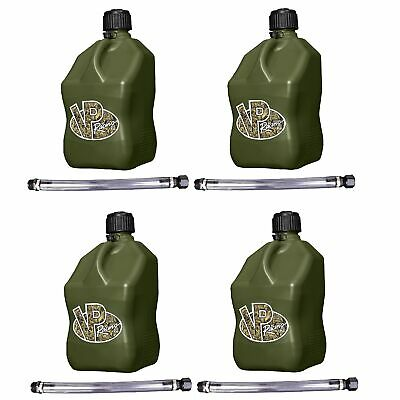 Vp Racing Fuels 5-gal. Motorsport Container Camo W 14 Standard Hose 4 Pack