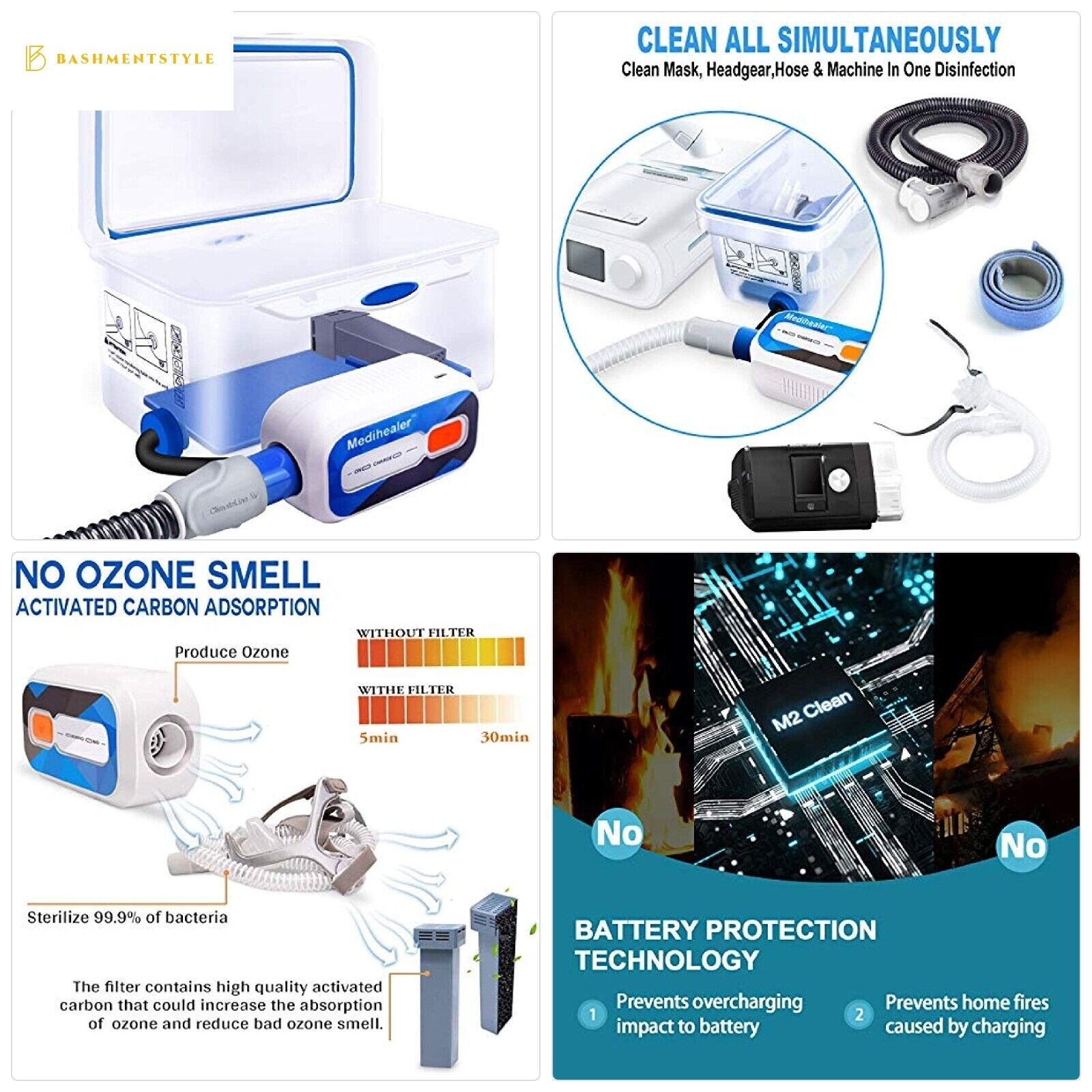 CPAP Cleaner and Sanitizer, Cleaner and Sanitizing Machine -