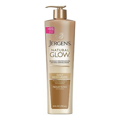 Jergens Natural Glow Daily Moisturizer for Body, Medium to T