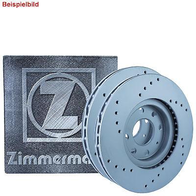 2x Bremsscheibe Bremse ZIMMERMANN 470.5406.20