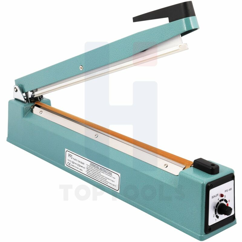 "16"" Heat Hand Impulse Sealer Machine Impulse Heat Sealer"