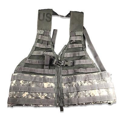 Tactical Fighting Load Carrier Vest MOLLE II ACU FLC SDS USGI LBV US Army Used
