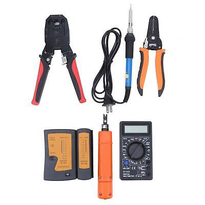 17pcsset Portable Network Cable Maintenance Tool Kit With Storage Bag