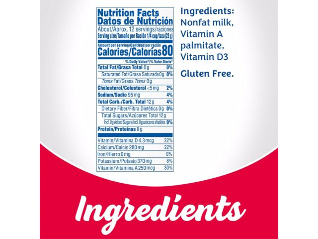 Nestle Carnation Instant Nonfat Dry Powdered Milk 9.6 oz can FREE SHIPPING