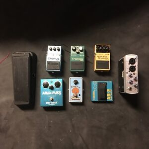 Guitar FX Pedals and stuff