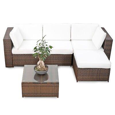 Polyrattan Lounge Set Milos-XL Sitzgruppe Gartenmöbel