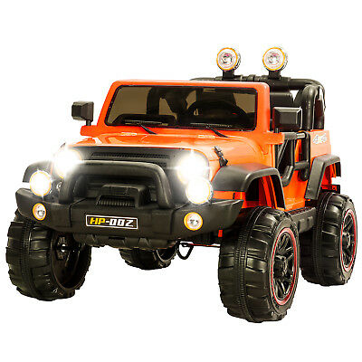 12V Kids Powered Ride on Cars Electric Battery Wheel Remote Control 4 Speed Jeep