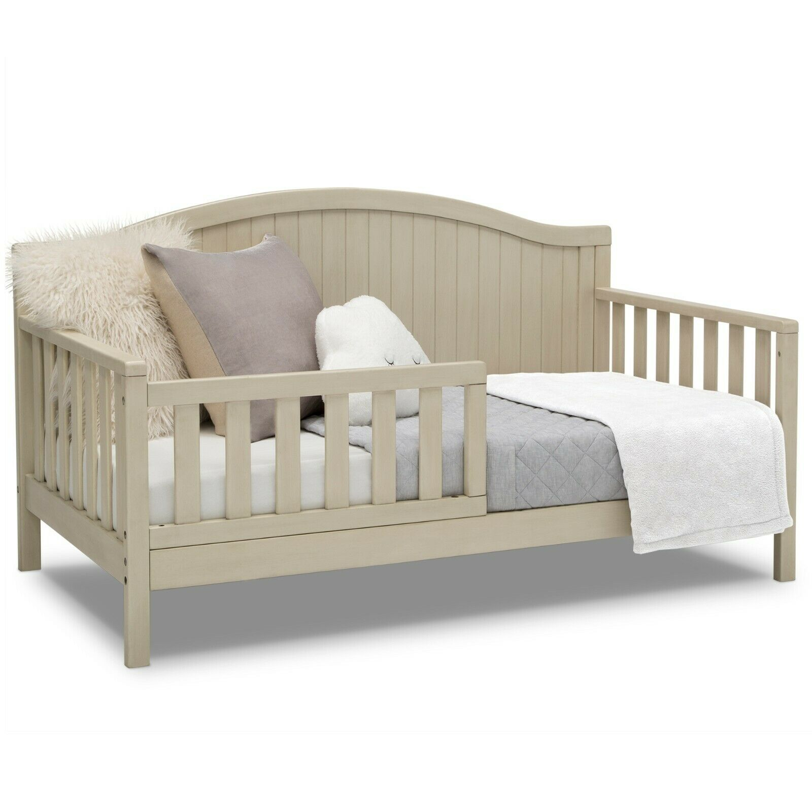convertible toddler to full bed white farmhouse