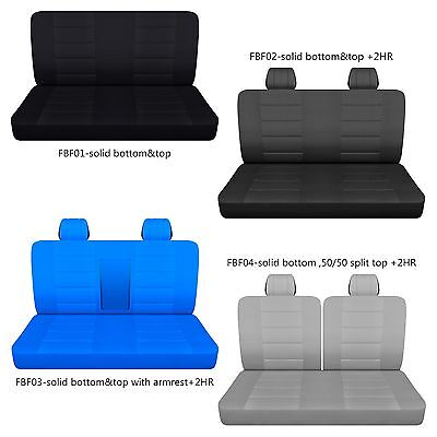 AFCC Ford f 150-250-350 cotton front bench truck seat cover choose COLOR+STYLE -