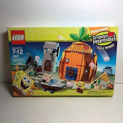 Lego SpongeBob SquarePants Set - Adventures in Bikini Bottom (3827) BRAND NEW!