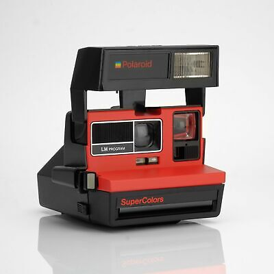 Used, Polaroid Supercolors Red 600 Camera for sale  Shipping to India