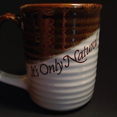 Coffee Mug Thilmany International Paper Tea Cup Its Only Natural Stoneware