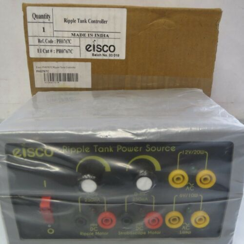Brand New - Eisco PH0767c Ripple Tank Controller with Power Cord
