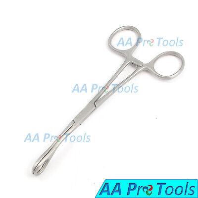 Body Piercing Forceps Kit Hemostat Sponge Clamp 6 Curved New